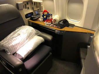 The New First Class Suites on American Airlines, Heathrow to Miami Flight  on a 777-300 - Great Seat/Bed & Crew But Shame About The Food - December  2017